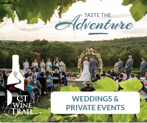 Adventure Awaits on the CT Wine Trail - Book your Wedding & Private Event with us for an unforgettable experience.