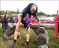 north american wife-carrying championships at Sunday River Maine