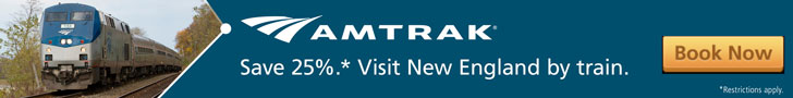 Amtrak - Visit New England by Train and Save 30%!
